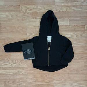 Other - Kids black hoodie sweatshirt